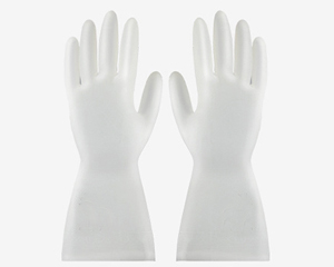 Deer pattern thickened PVC gloves